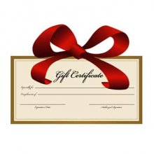 Raptor Racing Gift Certificates