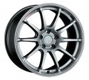 SSR GTV02 18x9.5 5x100 40mm Offset Phantom Silver