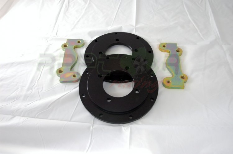 Raptor Racing Big Brake Kit MK2 Supra Complete Rear - Click Image to Close