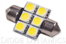 31mm SMF6 LED Bulb Green Single Diode Dynamics