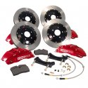 Stoptech 2014 Ford Fiesta ST Front Big Brake Kit Black