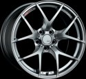 SSR GTV03 18x8.5 5x100 44mm Offset Phantom Silver Wheel