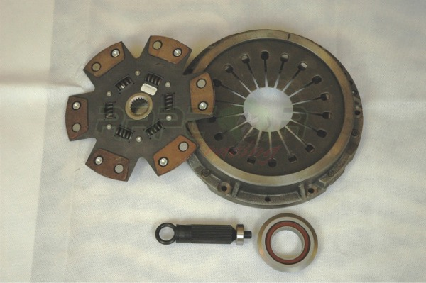 Raptor Racing R154 6Puck Dual Friction Clutch Kit - Click Image to Close