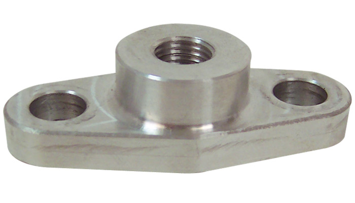 Oil Feed Flange (for use with T3, T3/T4 and T04 Turbochargers) - Click Image to Close